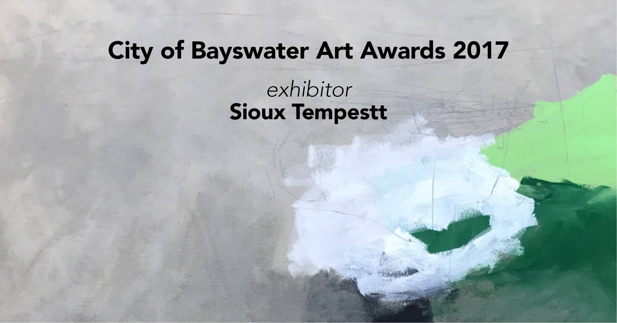 City of Bayswater Art Awards 2017 - Exhibitor Sioux Tempestt