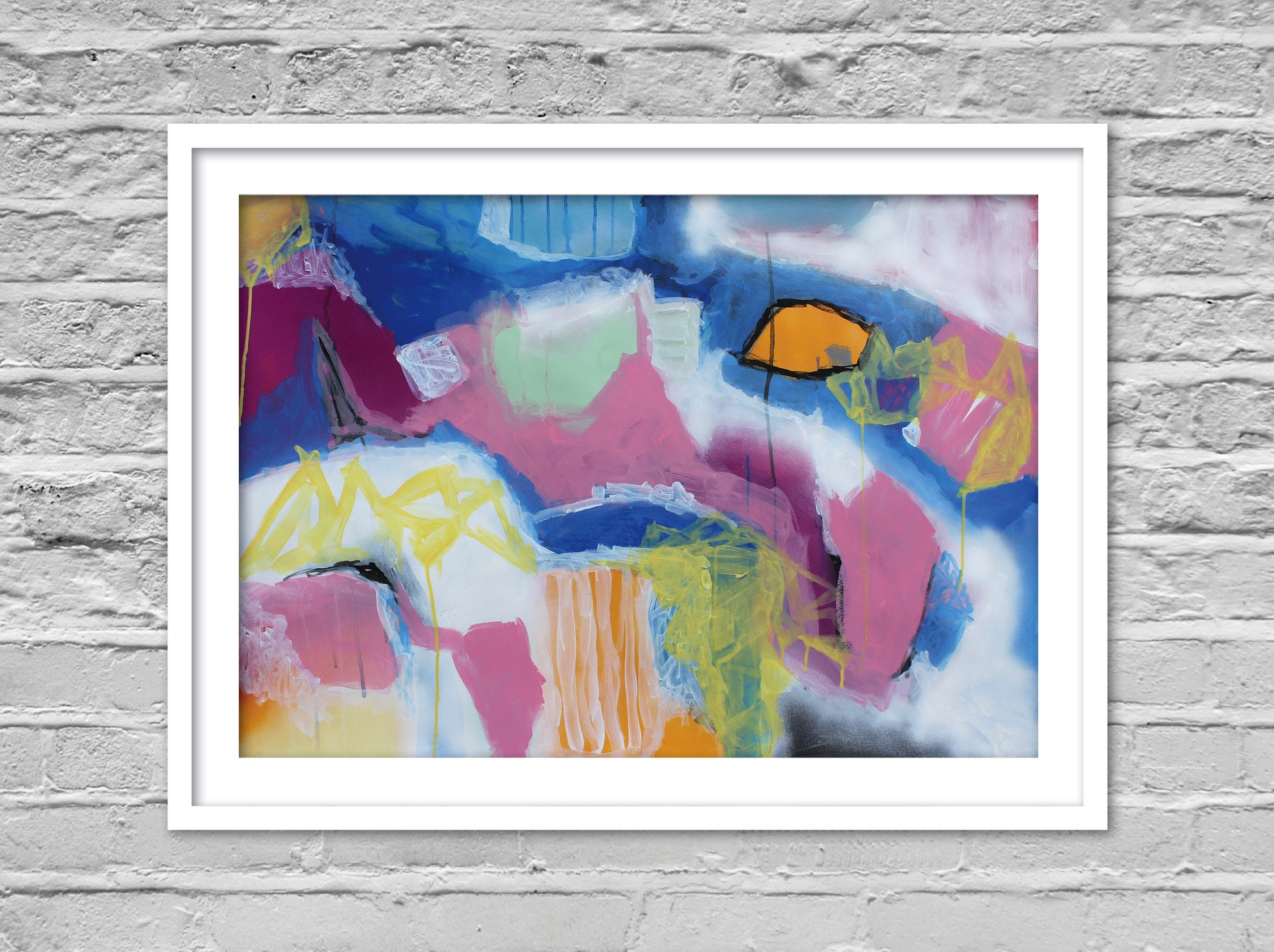 abstract painting perth