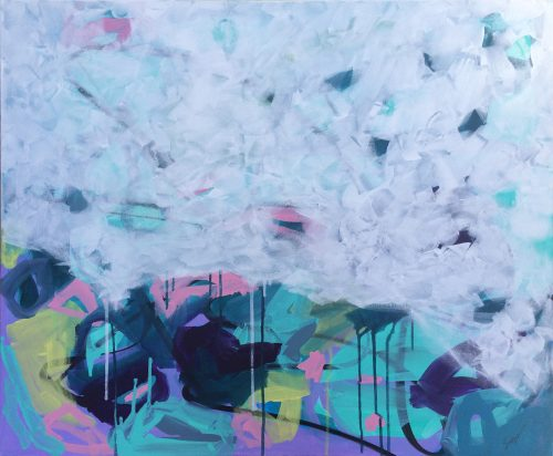 abstract painting by sioux tempestt